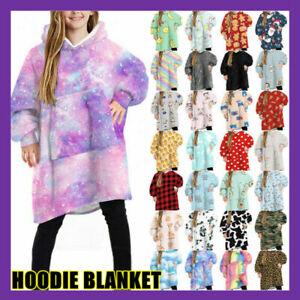 AU FIL Oversized Hoodie Blanket Oodie Plush Warm Big Fleece Soft Winter Pullover