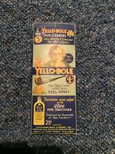 """Vintage Yello-bole pipe cleaners, antique ads, """"cured with real honey"""""""