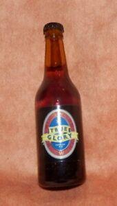 Lovely miniature vintage True Glory Premium Ale bottle