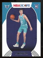 2020-21 Panini NBA Hoops LAMELO BALL Rookie Card RC #223 Charlotte Hornets