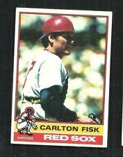 1976 TOPPS #365 CARLTON FISK    BOSTON RED SOX  HOF ~  SHARP    EXMT