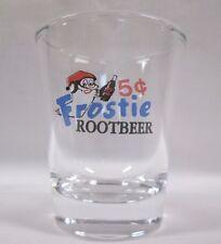 FROSTIE ROOTBEER SODA MR OWL LOGO SHOT GLASS