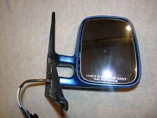 2000 VW Eurovan Passenger side Power Heated mirror -BLUE-tested-works 701 857 50