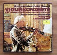 DG 2740 116 Mozart Violin Concertos Wolfgang Schneiderhan 3xLP Germany NM/EX