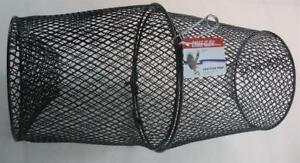 "Eagle Claw 11040-003 Black Vinyl Coated Crawfish TRAP 16-1/2"" x 9"" 20100"