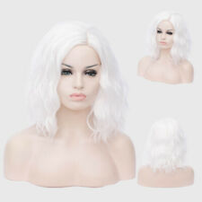 13 Colors Parted Instant Noodles Short Curly Hair Wavy Full Wigs Bob Cosplay