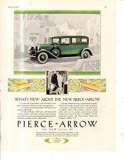 "1928 Pierce Arrow Series 81 Original ad from ""The Sportsman."" - Scarce"