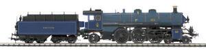 HO MTH Die-Cast KBayStsB S 3/6 2 Rail DC w/DCC, Sound, Smoke 80-3215-1