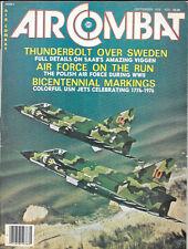 Air Combat V4 N5 Polish Air Force Nazis Thunderbolt Sweden RAAF  F-111C Japan