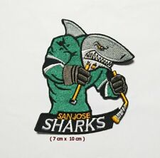 San jose Sharks  Sport Logo  Patch Iron and sewing on Clothes