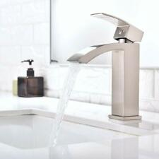 Bathroom Vessel Sink Faucet Lavatory Faucet Deck Mount Mixing Tap Waterfall