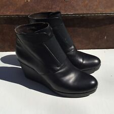 Coclico Black Leather Biker Boot From Anthropologie Women's Size 8
