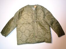 GENUINE USGI MILITARY M-65 FIELD JACKET M65 COLD WEATHER COAT LINER SMALL NEW