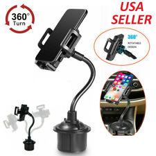 360 Degree Car Mount Adjustable Gooseneck Cup Holder for Universal Cell Phone