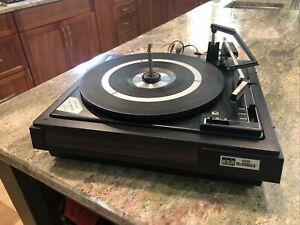 BSR McDonald 4800 Stereo Turntable Record Player Functional Read Description