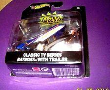 Hot Wheels 2015 1:50 Batman CLASSIC TV SERIES BATBOAT w/TRAILER DKL20/DKL25