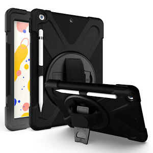 """iPad 7th 8th Gen Case, Heavy Duty Shield Case Cover for For Apple iPad 10.2"""" 7 8"""