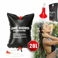 20L Outdoor Storage Camping Shower Bladder Solar Energy Heated Water Bag PVC H