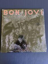 BON JOVI Slippery When Wet 180 GM 2014 LP Vinyl SEALED Copy New