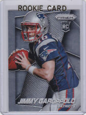 Jimmy Garoppolo RC New England Patriot 2014 PRIZM ROOKIE CARD San Francisco 49er