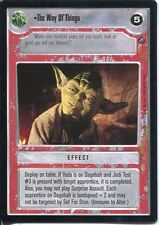 Star Wars CCG Death Star II The Way Of The Things