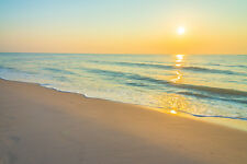 BEAUTIFUL BEACH SUNSET CANVAS PICTURE #260 STUNNING PHOTOGRAPHY A1 CANVAS