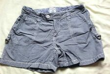 H&M LOGG Stripy Shorts 100% Cotton EU 34/UK 8
