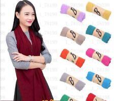 Vert pour femme long en coton doux écharpe Wrap Châle Neuf Pashmina europeanbrand eBay
