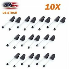 NEW 10 Pair Adjustable Plastic Spring Shoe Tree Shaper Keeper Stretcher for Men
