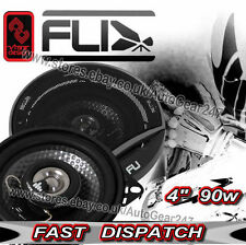 "FLI FU4 Underground 4"" 10cm 100mm 90w Car Van Door Shelf Coaxial Speakers -Pair"
