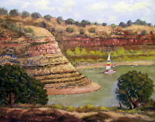 SAILING AT LAKE PUEBLO STATE PARK by Richard R. Nervig