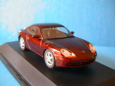 PORSCHE 911 996 CARRERA COUPE BORDEAUX SCHUCO 04343 1/43 RED METALLIC ROADSTER