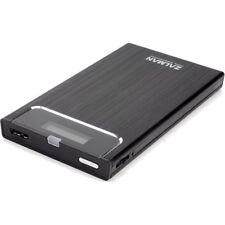 "Zalman ZM-VE350 2.5"" HDD/SSD Enclosure, Virtual ODD, USB 3.0/2.0 Black"