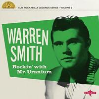 """Warren Smith - Rockin' With Mr Uranium (NEW 10"""" VINYL)"""