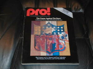 1976 RAMS AT DOLPHINS NFL FOOTBALL PROGRAM  EX-MINT