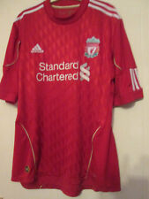 Liverpool 2010-2011 Home Football Shirt Size Large ynWA Standard Charter /35129