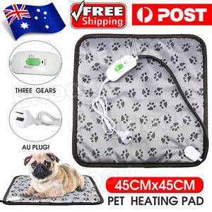 2020 Pet Electric Heat Heated Heating Heater Pad Mat Blanket Bed Dog Cat Bunny