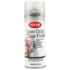 Krylon 7120 Low Odor Clear Matte 11 Oz *Orm20
