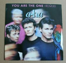 A-ha, you are the one (remix) / out of blue comes green, SP - 45 tours France