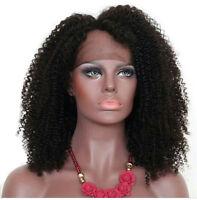 Brazilian Virgin 100% Human Hair Full Lace Wig Women With Baby Hair Black Wigs