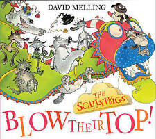 """""""AS NEW"""" The Scallywags Blow Their Top!, Melling, David, Book"""