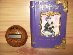 Vintage Harry Potter __ BOOK OF SPELLS & 20Q __ Tiger Electronics Toy