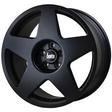 "17"" BOLA B10 ALLOY WHEELS MATT BLACK FITS FORD FIESTA FOCUS FUSION 4X108"