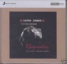 Rhapsodies Stokowski Liszt Enesco Smetana Wagner Limited Numbered Japan K2HD CD