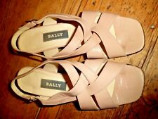 Gorgeous Bally Slingback Strappy Sandals in Nude uk 3 / 36