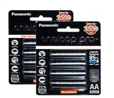 8PCS x Panasonic Eneloop Pro 2450mAh AA High Capacity Rechargeable Batteries NEW