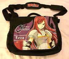 Fairy Tail Fairy Queen Titania Ezra Scarlet Shoulder Messenger Bag Black Anime