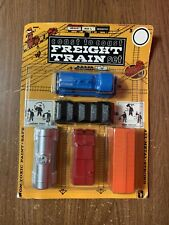 Vintage Midgetoy Coast To Coast Train Set  By Midgetoy Rockford, IL Made In USA
