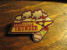Knoxville Thunder Pin - Tennessee USA State Baseball Player Team Ball Lapel Hat