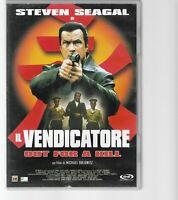 DVD IL VENDICATORE STEVEN SEAGAL